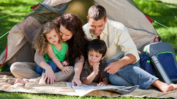 Family Camp and Canoe Weekend