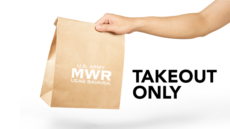 Takeout at MWR Cafes & Diners