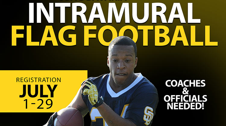 Intramural Flag Football Registration