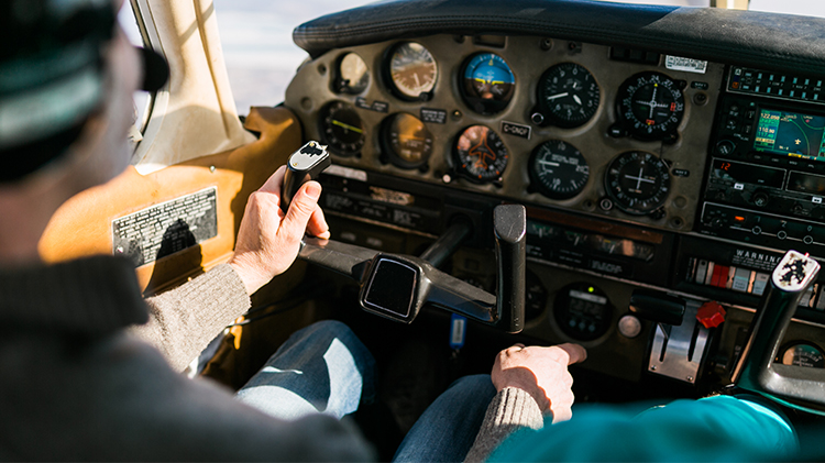 Flight Training Over Bavaria