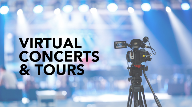 Virtual Concerts, Art Galleries, Museums & Travel
