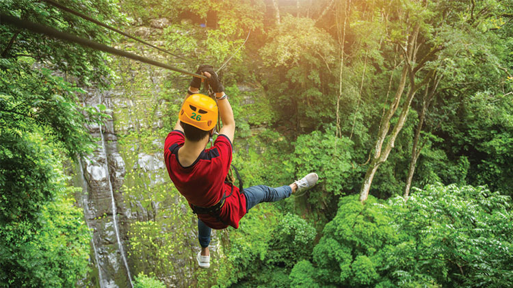 Zipline and High Ropes Adventure Park