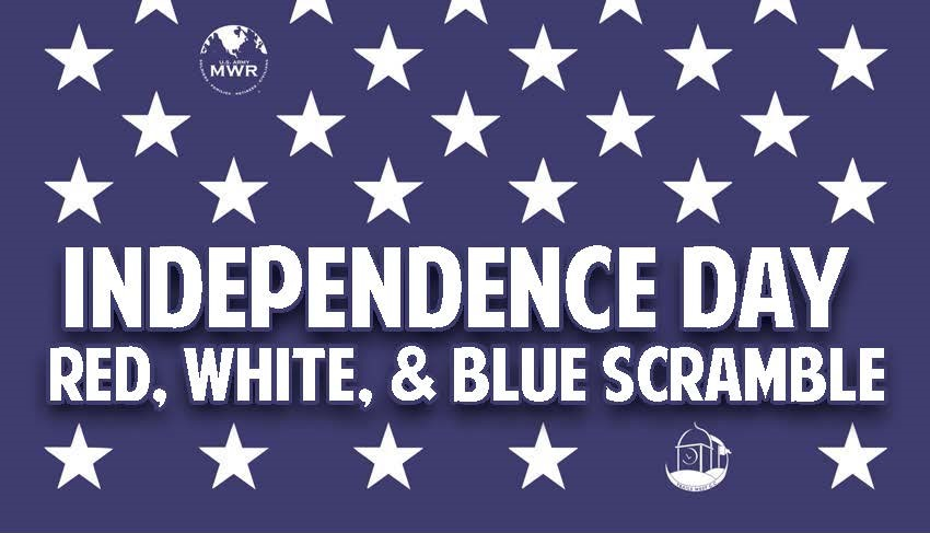 Independence Day Red, White, & Blue Scramble