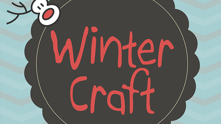 Winter Craft at the Library
