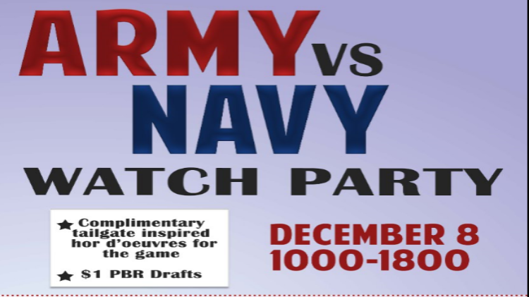 Army vs. Navy Watch Party & Golf Shop Holiday Sale