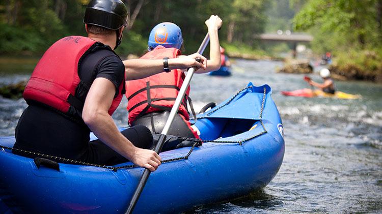 Kayaking in Little Switzerland