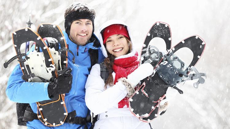 Snowshoe Hike in Fichtelgebirge
