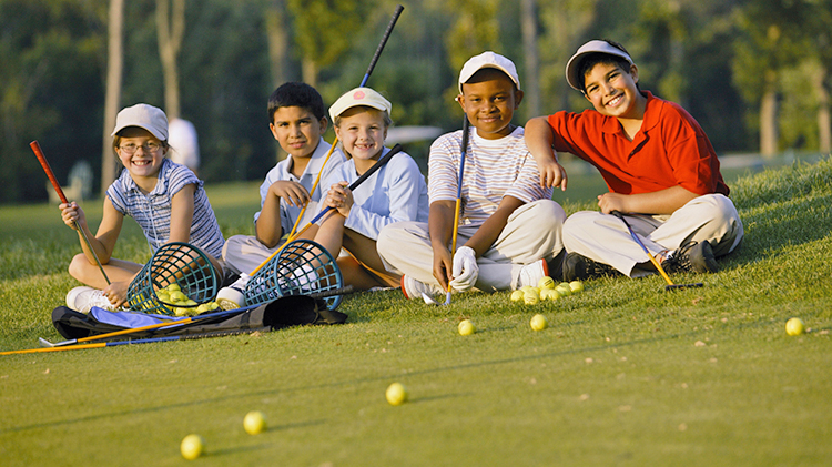 Family Golf Day at Trails West