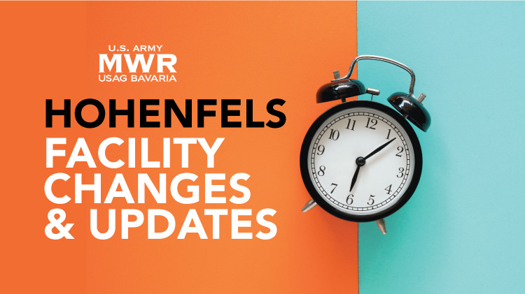 MWR Facility Changes & Updates - Hohenfels