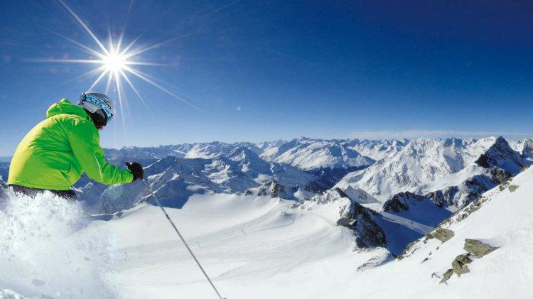 Ski/Snowboard at Stubai