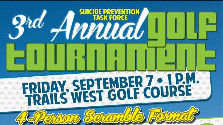 3rd  Annual SPTF Golf Tournament Suicide Prevention Task Force
