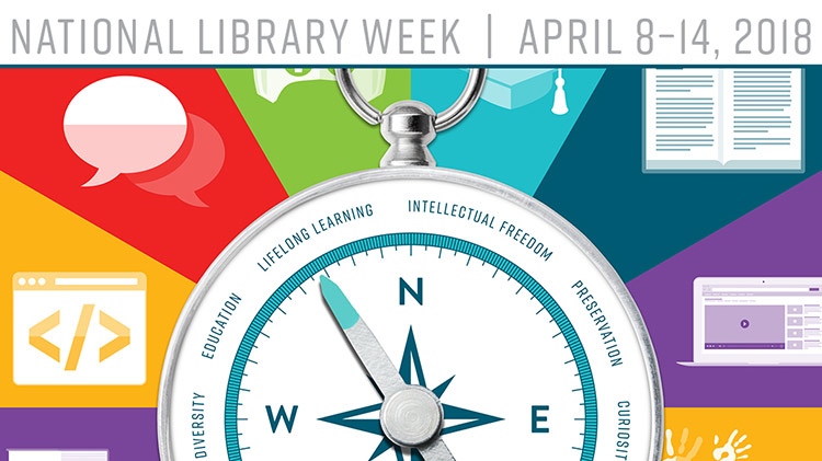 "National Library Week ""Libraries Lead"""